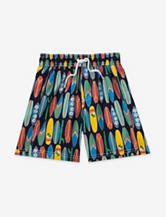 Carter's® Wave Rider Surfboard Print Board Shorts – Boys 5-7