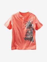 OshKosh B'gosh® Orange So Cal Surf Henley T-shirt – Toddler Boys