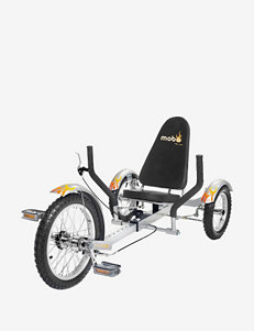 Mobo Triton The Ultimate Three Wheeled Cruiser – Silver