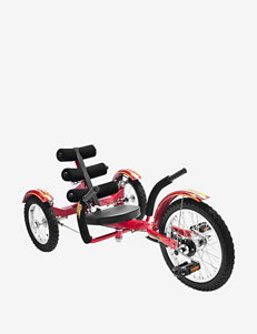 Mobo Mobito The Ultimate Three Wheeled Cruiser – Red