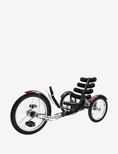 Mobo Shift World's First Reversible Three Wheeled Cruiser – Black