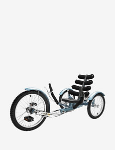 Mobo Shift World's First Reversible Three Wheeled Cruiser – Blue
