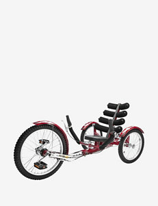 Mobo Shift World's First Reversible Three Wheeled Cruiser – Red