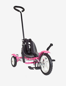 Mobo Total Tot Roll To Ride Three Wheeled Cruiser – Pink
