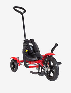 Mobo Total Tot Roll To Ride Three Wheeled Cruiser – Red