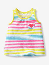 Carter's® Yellow Striped Tank Top – Girls 4-6x