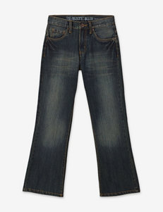 Rustic Blue Bootcut Jeans – Boys 8-20