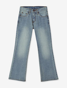 Rustic Blue Light Vintage Boot Cut Jeans – Boys 8-18