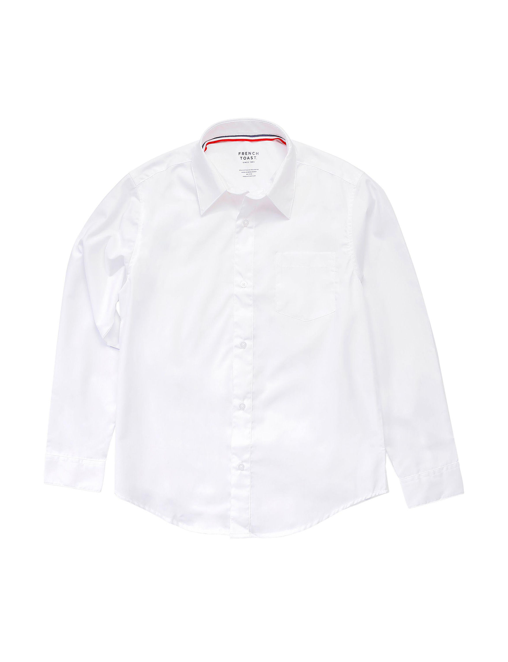 French Toast White Shirts & Blouses