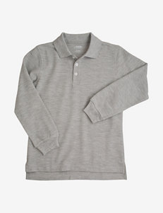 French Toast Solid Color Piqué Polo Shirt – Boys 4-7