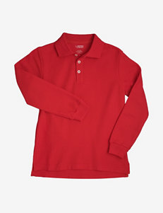 French Toast Solid Color Piqué Polo Shirt – Toddler Boys