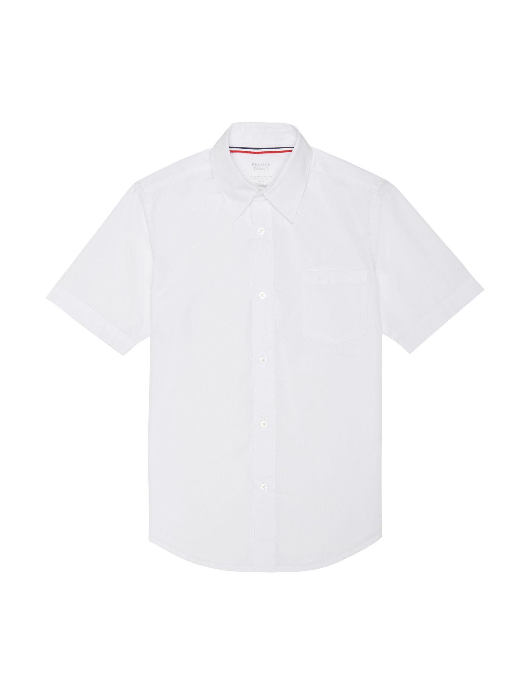 French Toast White Shirts & Blouses