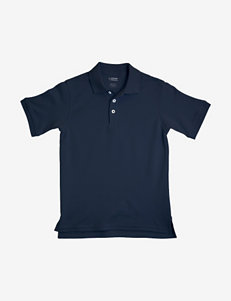 French Toast Interlock Knit Polo – Boys 8-20