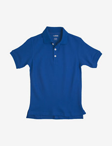 French Toast Solid Color Pique Polo Shirt – Toddler Boys