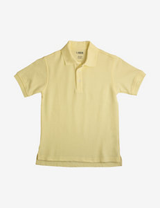 French Toast Solid Color Pique Polo Shirt – Boys Husky