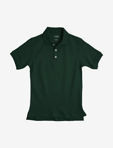 French Toast Solid Color Pique Polo Shirt – Boys 4-7