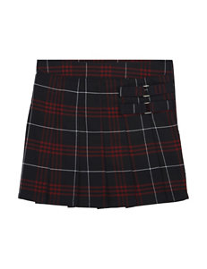 French Toast Plaid Two-Tab Scooter - Girls 7-14