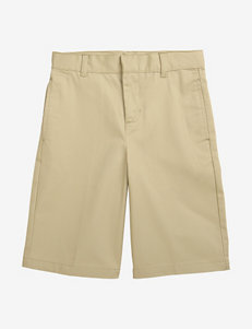 French Toast Flat Front Adjustable Waist Shorts – Boys 4-7