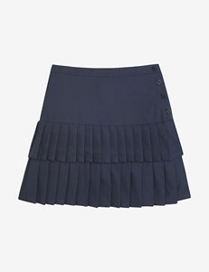 French Toast Navy Skorts