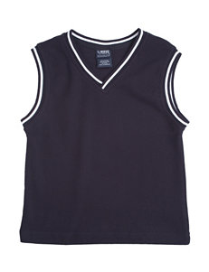 French Toast Navy Striped Sweater Vest – Boys 4-7
