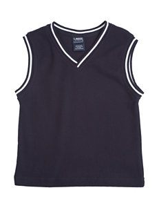 French Toast Navy Striped Sweater Vest – Boys 8-20