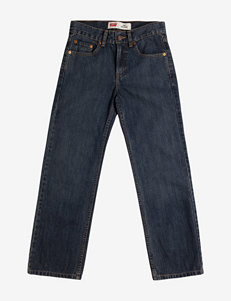 Levis 550 Crosshatch Denim Jeans – Husky Boys 8-18