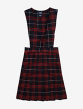 French Toast Pleated Red Plaid Uniform Jumper – Girls Plus