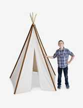Pacific Play Tents Giant 8-Foot Authentic Cotton Canvas Teepee