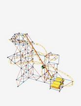 K'NEX 624-pc. Thrill Rides Building Set: Hyper-Speed Roller Coaster