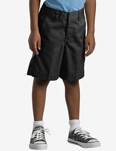 Dickies Flat Front Solid Color Shorts – Boys Husky