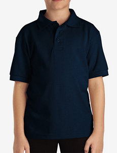 Dickies Solid Color Short Sleeve Pique Polo Shirt – Boys 4-7