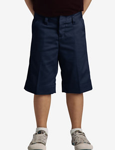 Dickies Solid Color Stretch Bermuda Shorts – Girls Plus