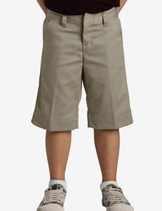 Dickies Solid Color Stretch Bermuda Shorts – Girls 4-6x