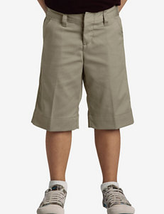 Dickies Solid Color Stretch Bermuda Shorts – Girls 7-20