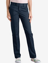 Dickies Solid Color Slim Straight Adjustable Waist Stretch Pants – Girls 7-20