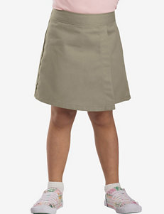 Dickies Solid Color Faux Wrap Skorts – Girls 4-6x