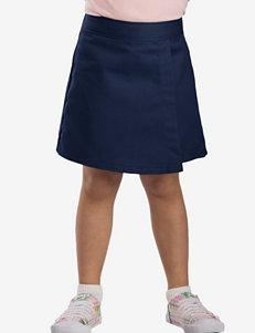 Dickies Solid Color Faux Wrap Skorts – Girls 7-14