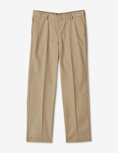 Dickies Solid Color Flat Front Pants – Boys Husky