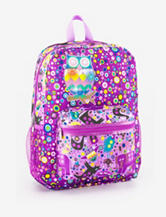 Global Design Purple Allover Owl Light Up Backpack