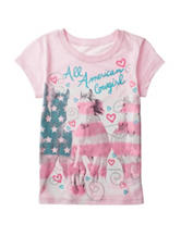 Twirl Pink All American Cowgirl Top – Girls 7-16