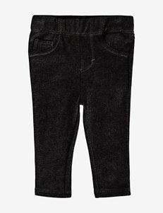 Levi's® Black Denim Stretch Leggings – Baby 12-24 Mos.