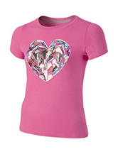 Nike® Pink Hearts Athletic Top – Girls 7-16