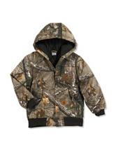 Carhartt Realtree® Xtra Camo Print Coat –Boys 4-8