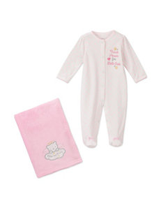 Baby Starters 2-pc. Thank Heaven for Little Girls Sleep & Play & Blanket – Baby 3-9 Mos.
