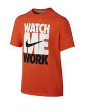 Nike® Watch Me Work T-Shirt – Boys 8-20