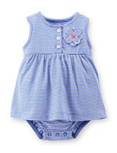 Carter's® Striped Dress – Baby 0-9 Mos.