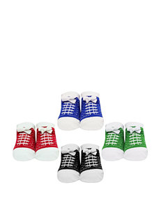 Baby Essentials 4-pk. Boy Sneaker Socks – Baby