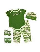 Baby Essentials 5-pc. Stud Muffin Bodysuit Set – Newborn - 6 Mos.
