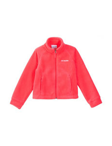Columbia Pink Fleece & Soft Shell Jackets
