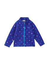 Columbia Diamond Print Fleece Jacket - Girls 4-6x